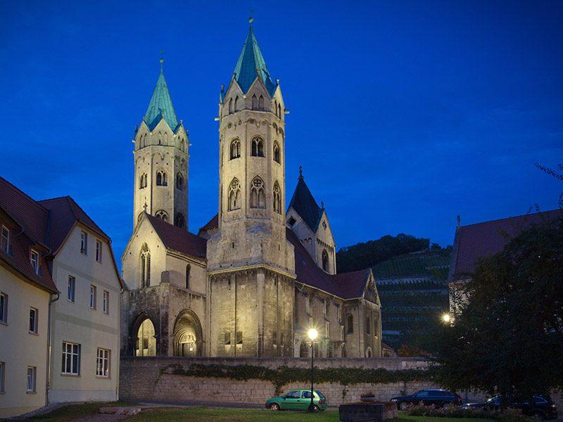 Kirchplatz in Freyburg