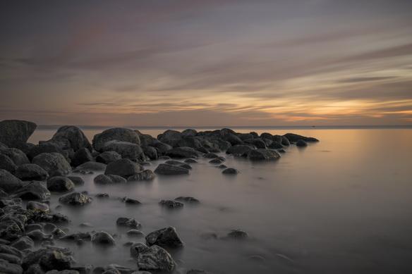 Abendstimmung Meer